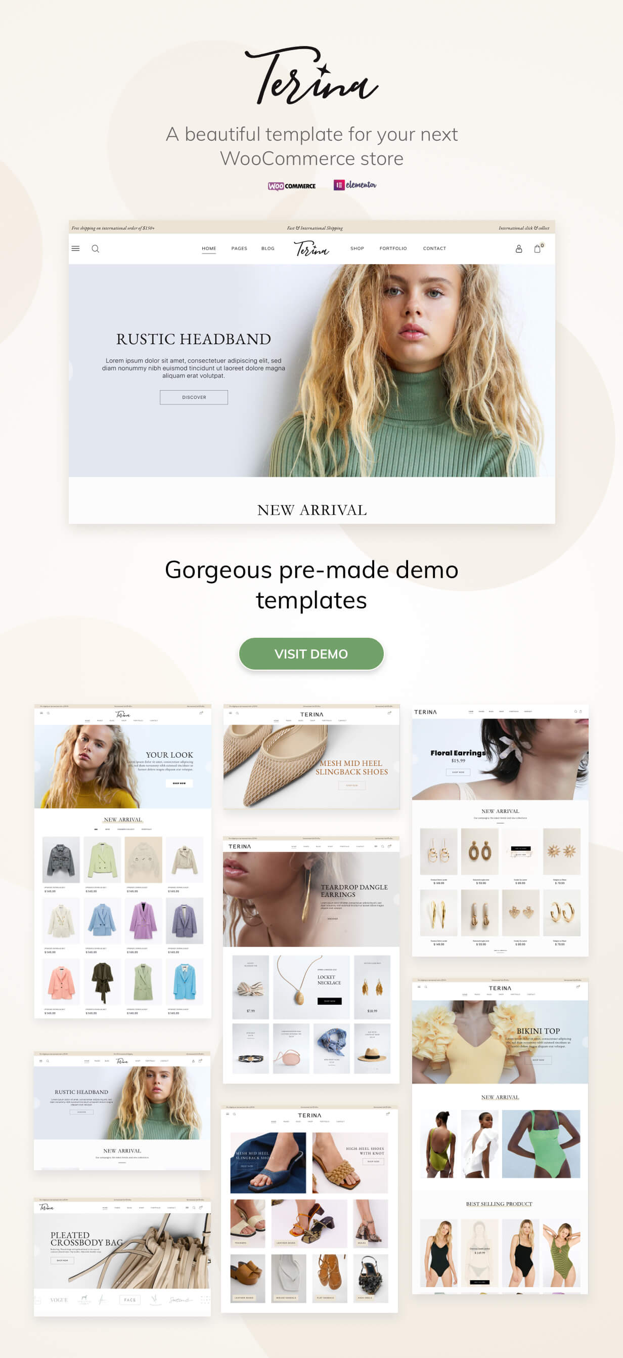 Terina - Multipurpose Elementor WooCommerce Theme - 1
